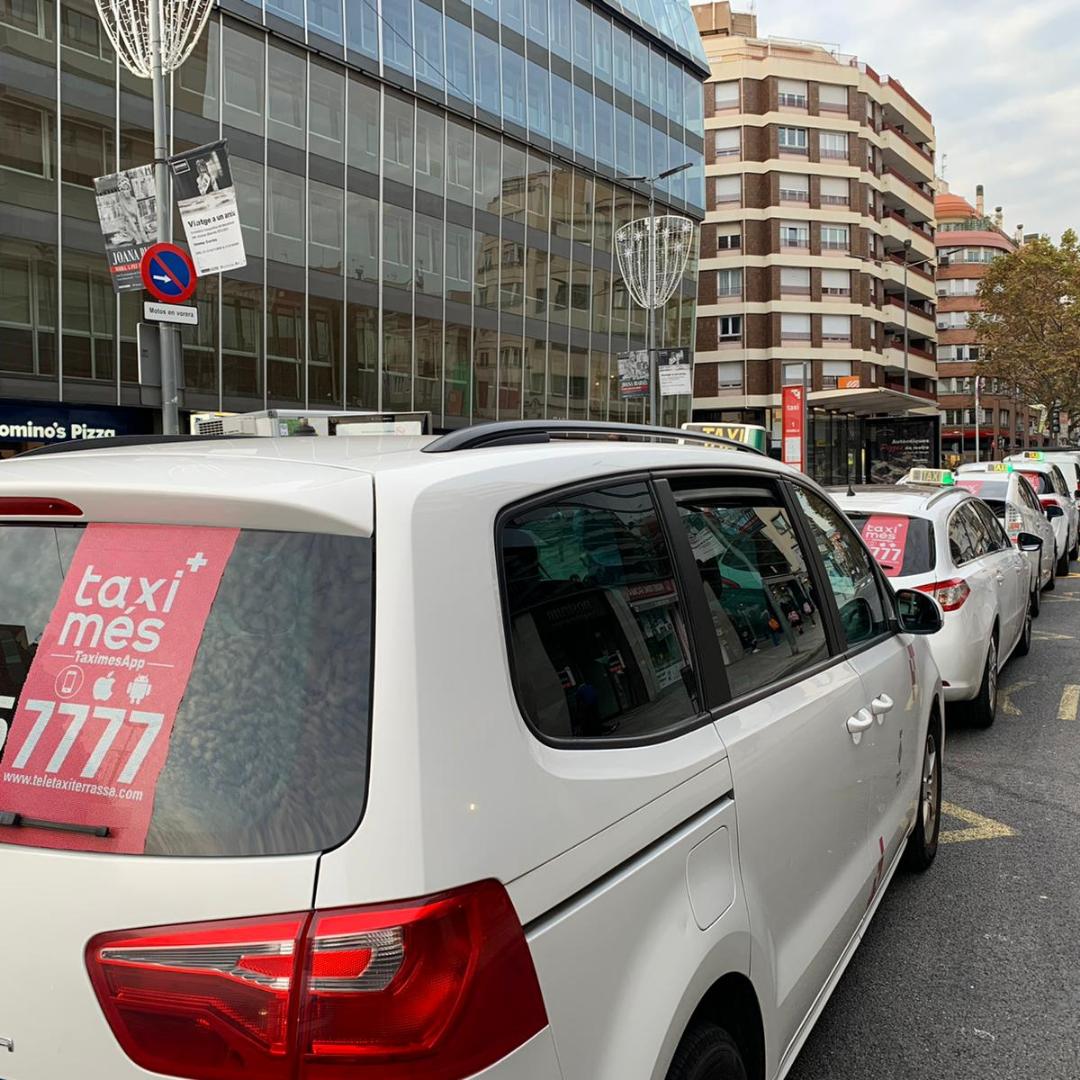 Taxis en Terrassa